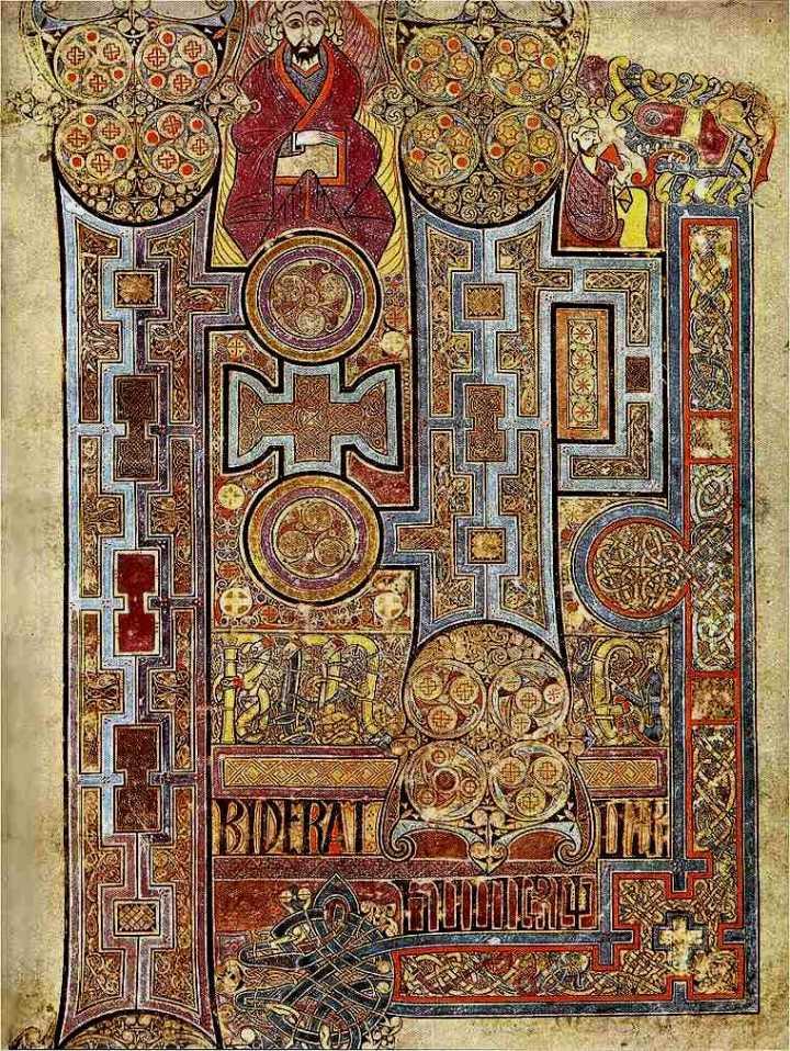 Book of Kells St. John